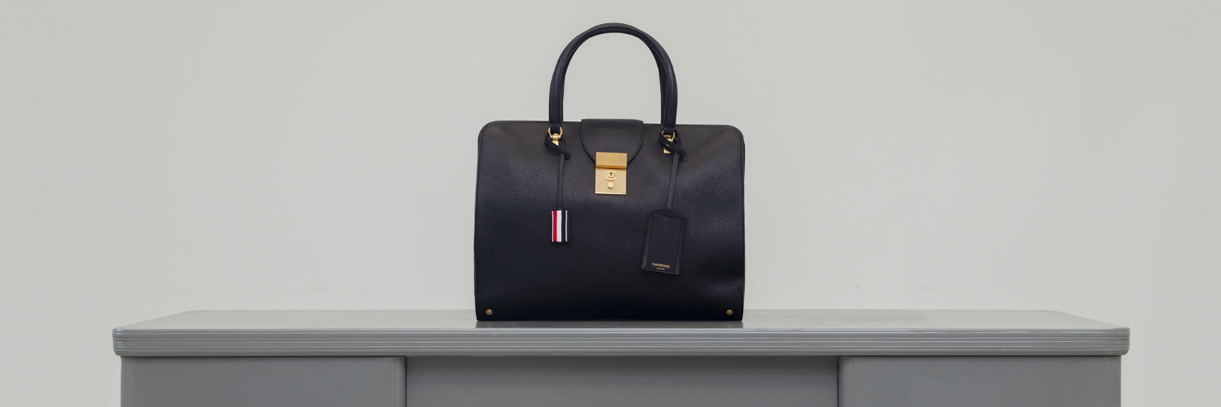 Shop Thom Browne Handbags and Leather Goods